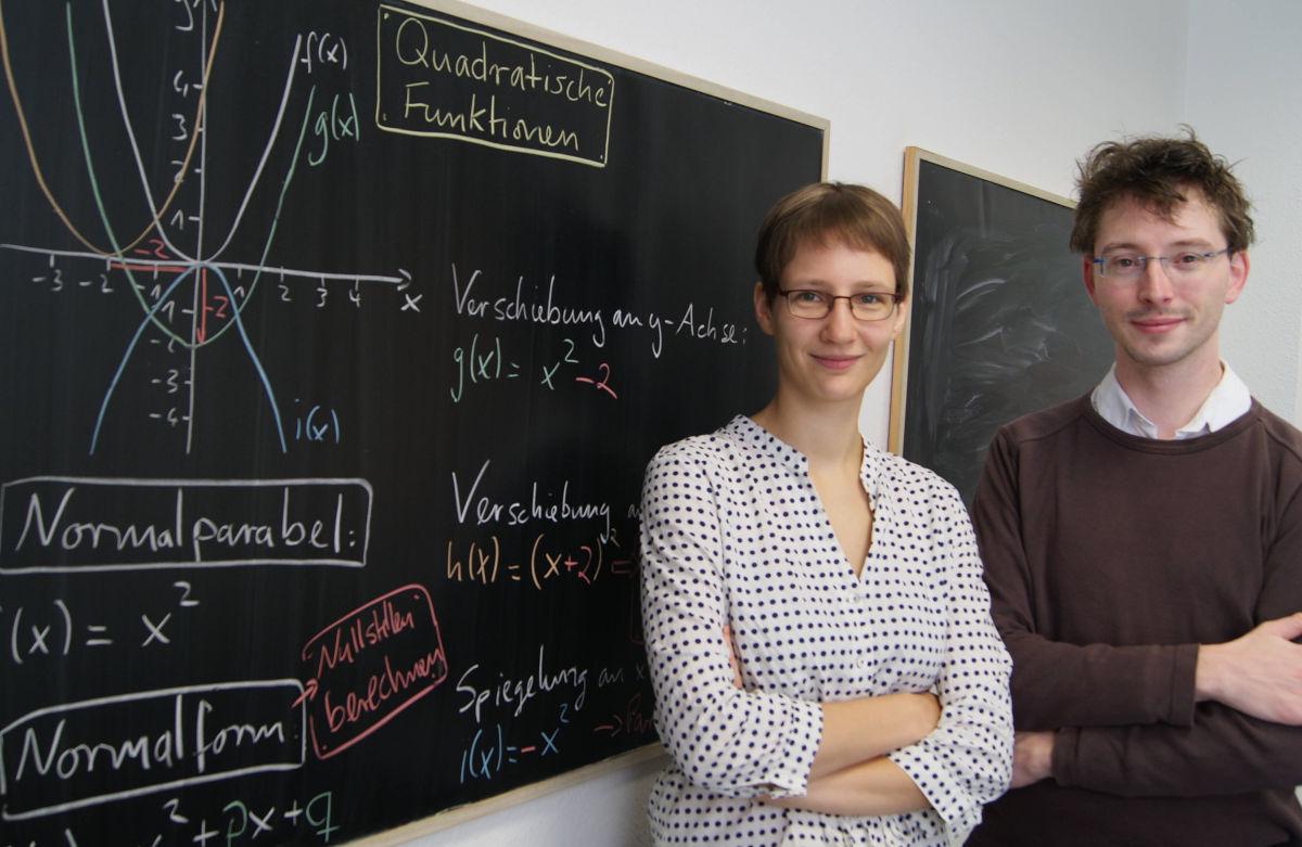 Anne und Matthias vom LernKompass-Team Dresden
