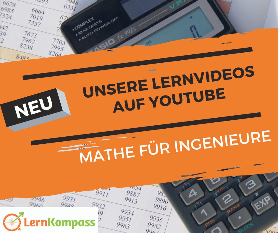 Unser Youtube-Kanal für Mathe-Lernvideos – entwickelt ab November 2019