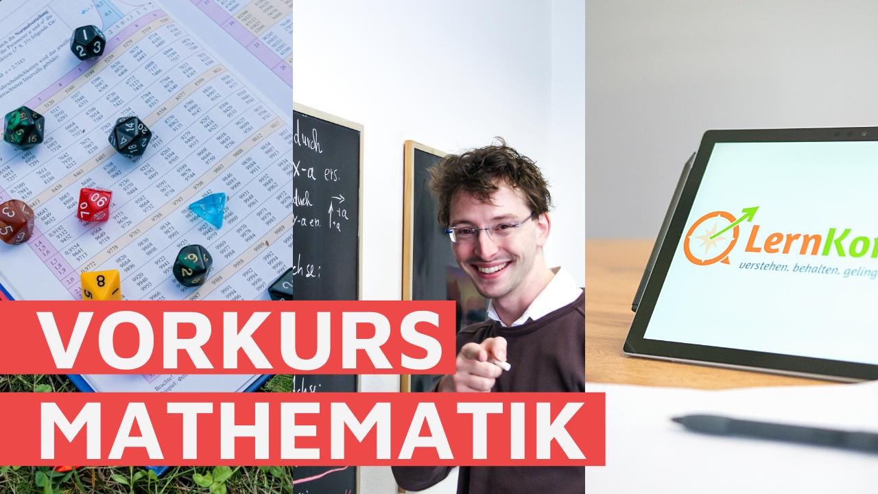Vorkurs Mathematik – unsere Lernvideo-Reihe beginnt